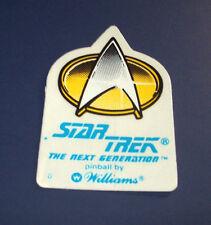 Williams Star Trek The Next Generation Original NOS Pinball Machine Promo Decal