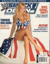 WWE Smack Down July 2005 Torrie Wilson, Eddie Guerrero 031417nonDBE
