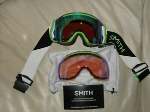 Smith I/O7 Goggles, 2 lenses, EUC!