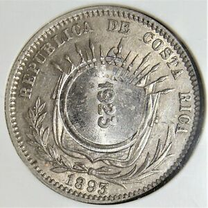 Costa Rica: costa rica. 50 Cents, 1923. MS62 NGC