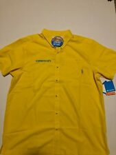Nwt Columbia PFG Oregon Ducks Slack Tide SS Button Up Shirt Mens Size M D5