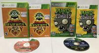 Xbox 360 Lot of 2 Games Zuma's Revenge + Plants v. Zombies ! COMPLETE ! CIB