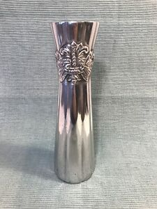 CHARTER CLUB Country Chateau Heavy Aluminum Metal Flower Bud Vase