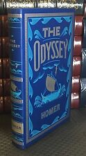 THE ODYSSEY by HOMER Translated by SAMUEL BUTLER Leather Bound Soft Cover NEW!