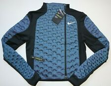 NIKE AEROLOFT WOMEN RUNNING REPEL LIGHT BOMBER ZIP JACKET - BV3847-464 XS L