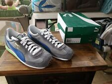 PUMA MEN'S Whirlwind Classic SUEDE SNEAKERS Steel Gray limoges MENS SIZE 12
