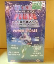 1993-Pro Set Power Update Sealed Box contains 48-Packs-9-Cards-Per-Pack