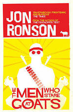 The Men Who Stare at Goats, Jon Ronson, New