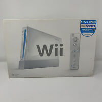 Nintendo Wii Complete In Box Console RVL-001 GameCube Compatible With Wii Sports
