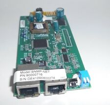 Minuteman SNMP-NET Remote management adapter, 10Mb LAN, RS-232 , 90000716