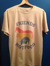 Men's Vegan Vegetarian T Shirt Friends Not Food Camiseta Vegana Veggie