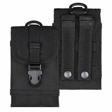 "Cell Phone Case Smartphone 5.5"" Tactical Military Molle Belt Bag"