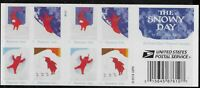 US Scott #5246b, Plate #P1111 Booklet Pane 2017 Snowy Day VF MNH