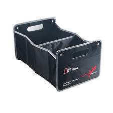 Sline Boot Trunk Organizer Collapsible Folding Storage Bag Box For Audi A1A3A4Q5
