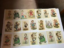 Bonnie Signed Vintage Postcard Lot Alfred Mainzer 21 Children Art SHIPS FREE!