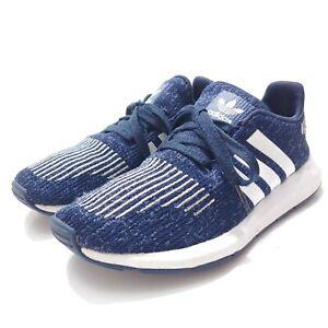 Adidas Originals PRB 698001 Men's Swift Run Sneakers Size 5 Navy Blue