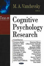 Focus on Cognitive Psychology Research - New Book