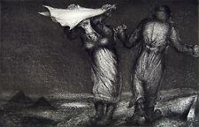 "DDR-arte."" 1917-pace!"", 1987. Karl-Georg Hirsch (* 1938 d), firmato a mano"