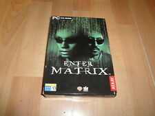 ENTER THE MATRIX DE SHINY ENTERTAIMENT - ATARI PC CON 4 DISCOS USADO COMPLETO