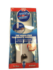 Touch N Brush Hands-Free Toothpaste Dispenser With Sonic 4X Toothbrush Nib