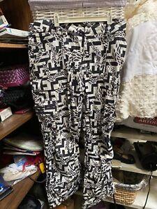 Burton Womens Snowboarding Pants Grey Pattern Cool Water Resistant Size M