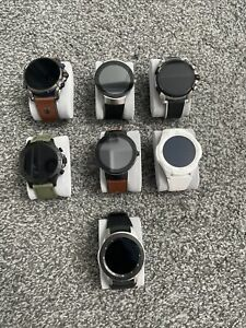 Lot Of 7 Movado, Fossil, Diesel Smart Watches!  All Mint And Functioning!