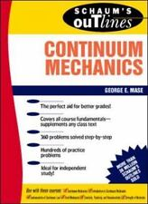 Schaum's Outline of Continuum Mechanics (Paperback or Softback)