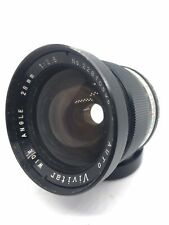 Vivitar Wide Angle 28mm f/2.5 Lens For M42 Mount w/ Lens Caps