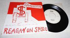 """Die Schwarzen Schafe - Reagan On Speed - 7"""" - Campari 002"""