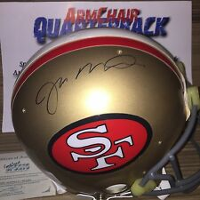 Joe Montana Autographed San Francisco 49ers FS Proline On Field Helmet