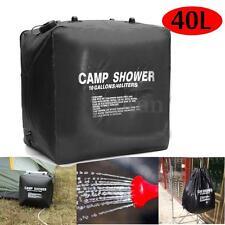 40L PVC Portable Sac de Douche Solaire Eau Shower Bag Pr Camping Hiking Voyage