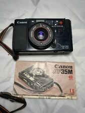 Canon Af35M 35mm Point & Shoot Film Camera W/lens And Manual.