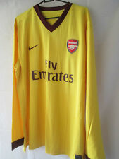 Arsenal joueur 2012-2013 question away FOOTBALL SHIRT XXL manches longues / 14017