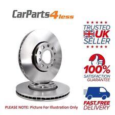 Mercedes Benz 260E 250D 300 E24V 320E - ATE 2x Rear Brake Discs Set 278mm Solid