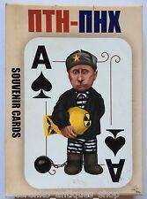 FUNNY POLITICS ПТН-ПНХ 36 Ukrainian Souvenir Playing Cards Ukraine Obama Putin