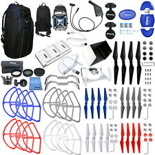 DJI Phantom 4 EVERYTHING YOU NEED ACCESSORY BUNDLE W/ PRO 2 BACKPACK + MUCH MORE