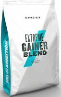 MyProtein Hard Gainer Extreme 2,5kg Weight Mass Gainer Unflavoured Pulver 2500g