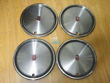 "4 NOS GM Hub Caps Wheel Covers 14"" 1982 83 84 85 86 87 88 Olds Cutlass Ciera FWD"