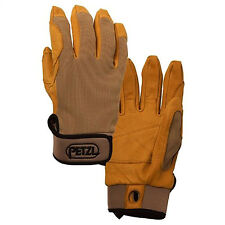 Petzl CORDEX belay rappeling climbing gloves Tan Large K52LT