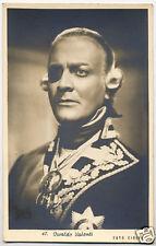 Vera fotografia Cartolina OSVALDO VALENTI foto Ciolfi anni '40