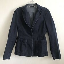 Weekend MaxMara Women's Blue Denim Suit Blazer Jacket - Size 2 USA
