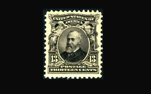US Stamp Mint OG & NH, VF S#308 deep fresh color