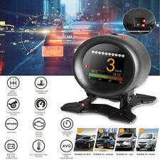 Autool X60 Auto OBD/OBD2 Hud Digital Wassertemperatur Volt Speed Meter Alarm