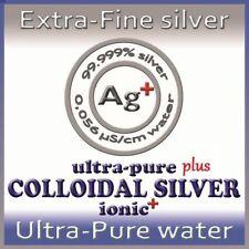 Argento colloidale ionico 10ppm ultrapuro PLUS 500ml