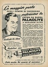 W0327 Crema da barba PALMOLIVE - Pubblicità 1953 - Advertising