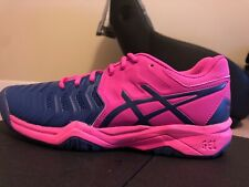 Asics Gel Resolution 7 GS (Pink Glo / Blue)