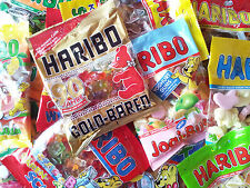 Haribo 8KG.Süsswarenpaket KEINE B-Ware! 40 x 200g. Tüten Weingummi