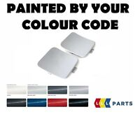 NEW BMW E84 M SPORT REAR BUMPER TOW HOOK EYE COVER PAINTED BY YOUR COLOUR CODE