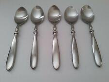 HAMPTON SILVERSMITH BISTRO - 5 Soup Spoons         (TH5)