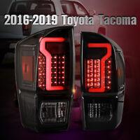 LED Tail Light For 16-20 Toyota Tacoma Brake Turn Signal Black/Smoke Aftermarket